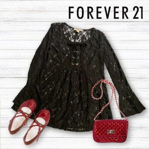 ⤵️Forever 21 black tunic